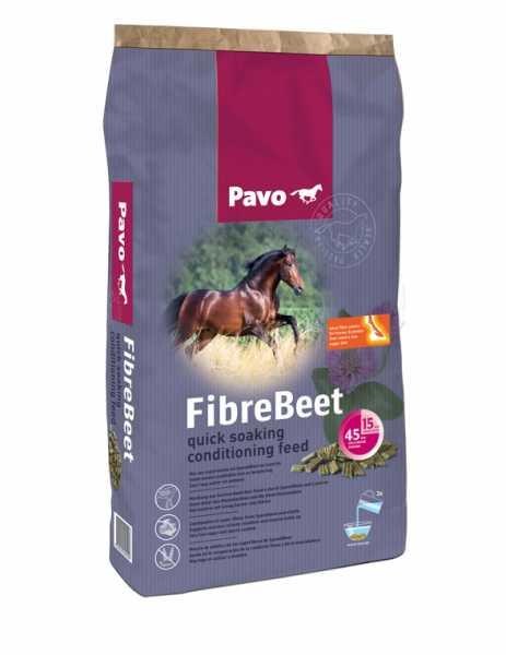 Pavo - FibreBeet - Raufutterergänzung für magere, dünne (Sport-)Pferde