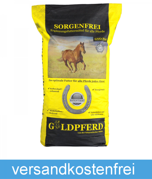 Scharnebecker Mühle - Goldpferd Sorgenfrei - universell einsetzbares Allroundfutter