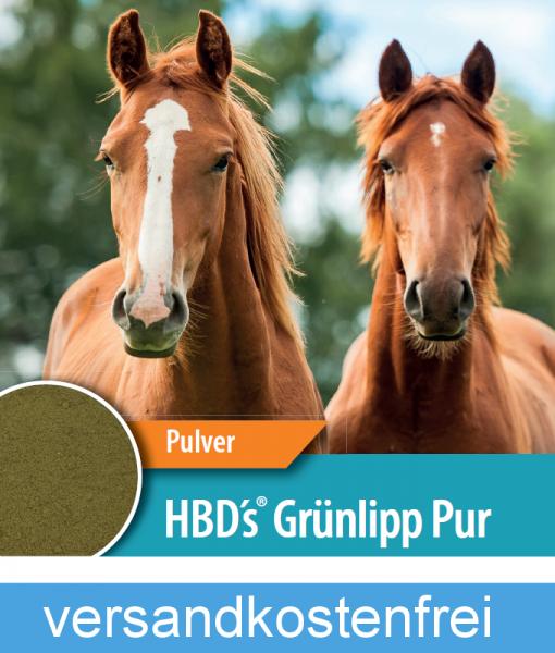HBD-Agrar - HBD's® GRÜNLIPP PUR - Für ein besseres Bindegewebe und Sehnengewebe