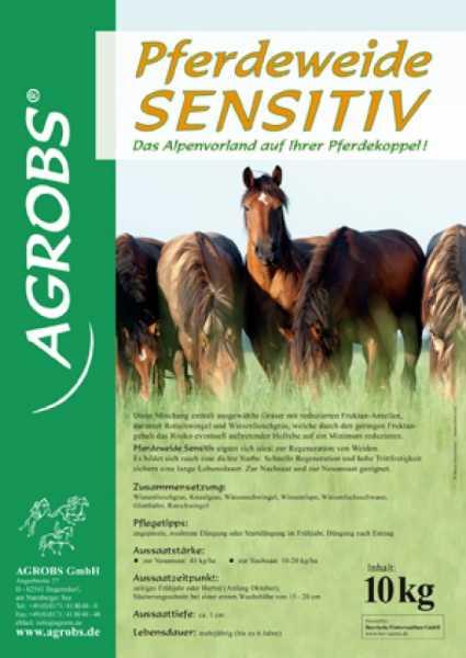 Agrobs - Pferdeweide Sensitiv - Saatmischung zur Regeneration von Weiden