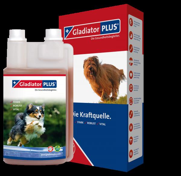 GladiatorPLUS - für Hunde - hochwertige Futterergänzung für dauerhafte Gesundheit