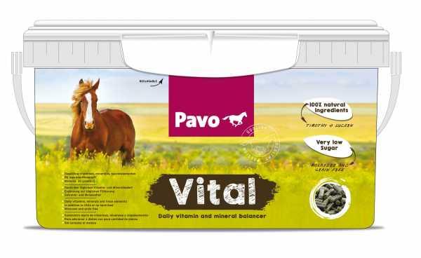Pavo - Vital - Getreide- und melassefreies Mineralfutter