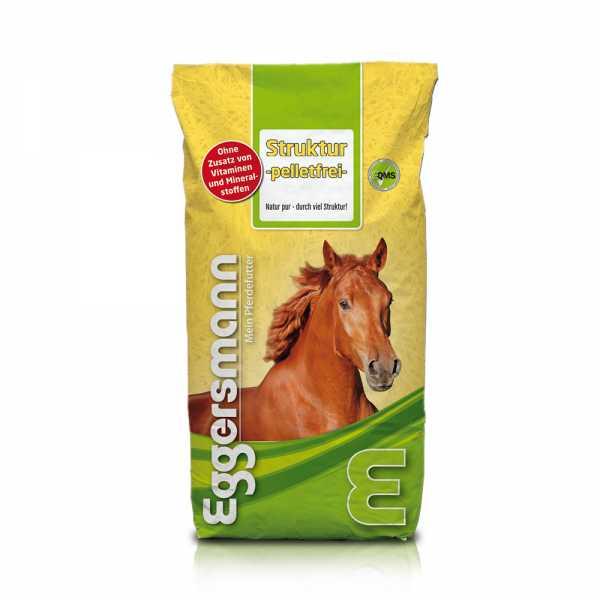 Eggersmann - Struktur Müsli pelletfrei - naturbelassenes Strukturfutter für Pferde und Ponys