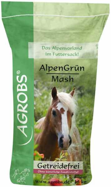 Agrobs - AlpenGrün Mash - Getreidefreies Mash ohne künstliche Zusatzstoffe