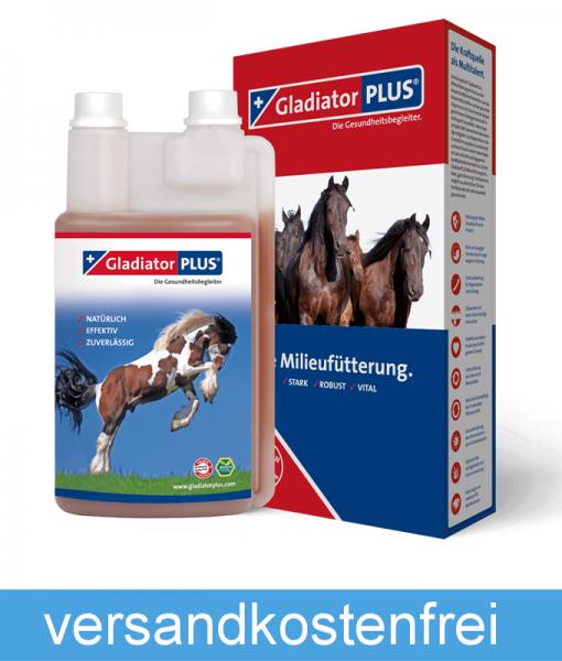 GladiatorPLUS - für Pferde - gesundheitsfördernde und energiereiche Nahrungsergänzung