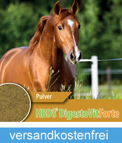 HBD-Agrar - HBD's® DigestoVit® Forte - Neuartiges Nutrazeutikum für den Darm des Pferdes