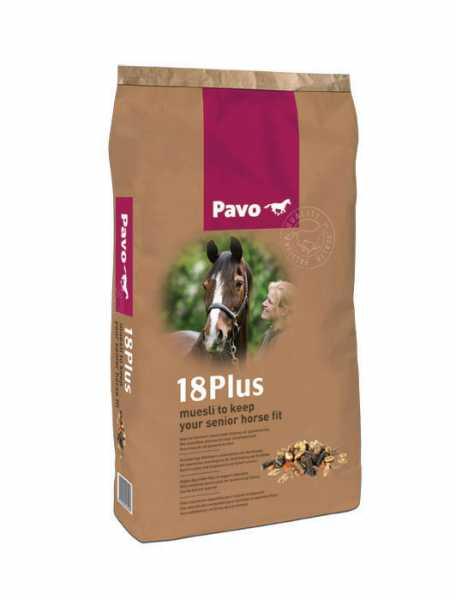 Pavo - 18Plus - Kraftfutter für älter werdende Pferde