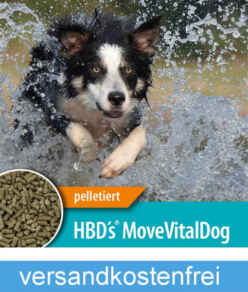 HBD`s® MoveVital Dog - Ergänzungsfuttermittel für Hunde