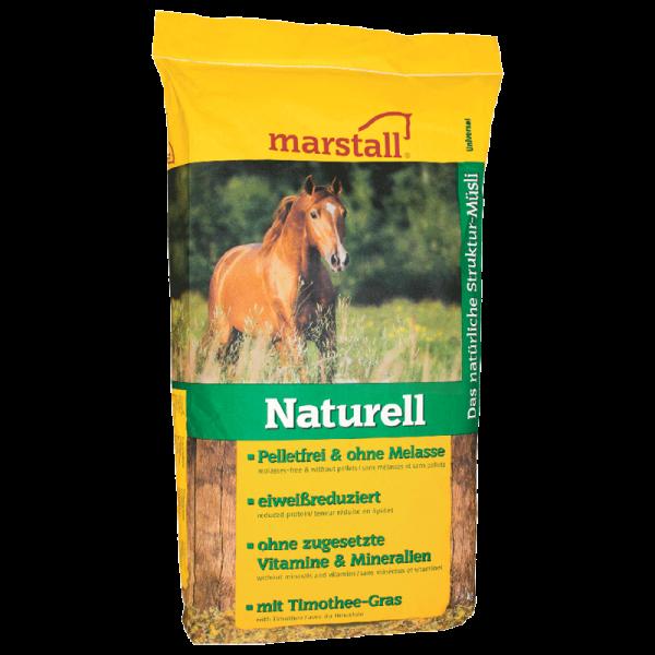 marstall - Naturell - Müsli für empfindliche Pferde mit Allergieneigung
