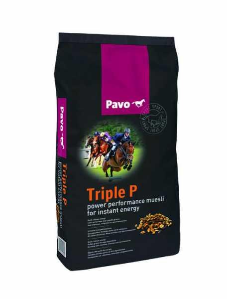 Pavo - TripleP - Energie-Kraftfutter für leistungsstarke Pferde