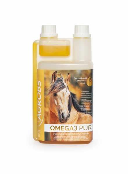 Agrobs - Omega3 Pur - Hochwertige Ölmischung für Pferde