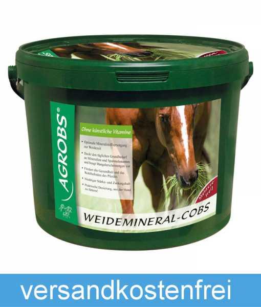 Agrobs - Weidemineral-Cobs - Mineralfutter für die Weidesaison mit essentiellen Spurenelementen