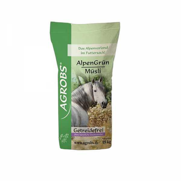Agrobs - AlpenGrün Müsli - getreide- und melassefreies Müsli