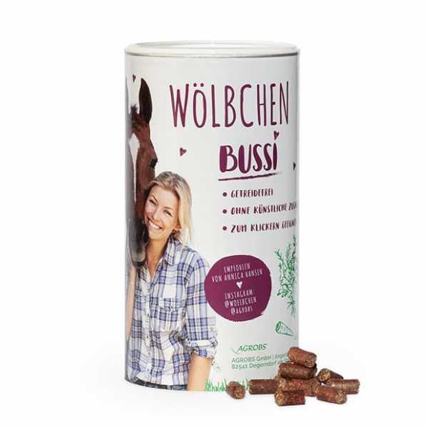 Agrobs - Wölbchen Bussi - Getreide- und melassefreie Pferdeleckerlis