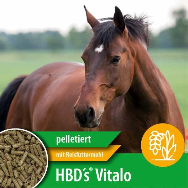 HBD-Agrar - HBD's® Vitalo - ergänzendes Kraftfutter ohne Getreide und synthetischen Substanzen