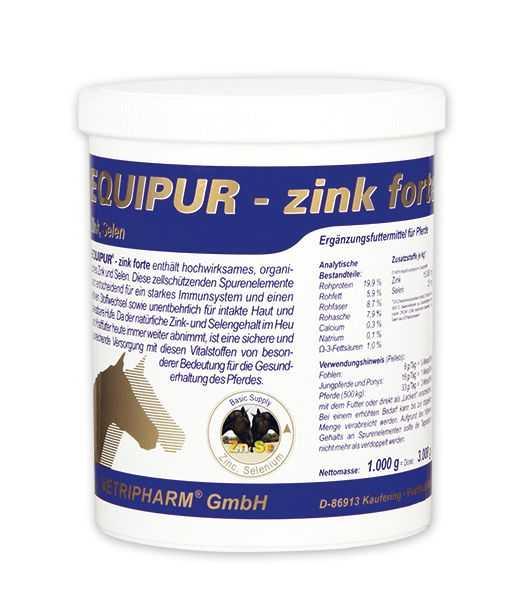 Equipur - zink forte - Zur Stärkung des Immunsystems