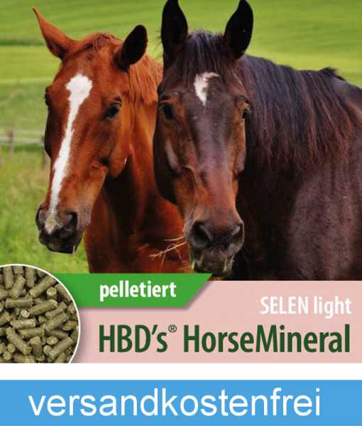 HBD-Agrar - HBD's® HorseMineral SELEN light - Mineralfutter mit reduziertem Selengehalt