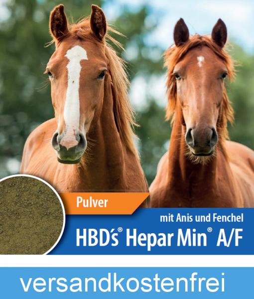 HBD-Agrar - HBD's® HeparMin® A/F- Ergänzungsfuttermittel zum Muskelaufbau und zur Entgiftung