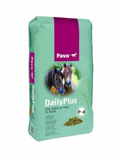 Pavo - DailyPlus - ausgewogenes Strukturfutter mit dem Nährwert von Heu