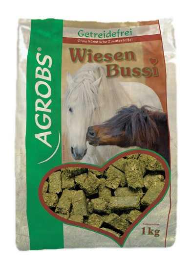 Agrobs - WiesenBussi - Schmackhaftes Leckerli aus Gräsern, Wurzeln und Obst