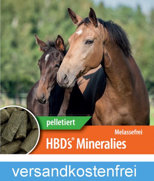 HBD-Agrar - HBD's® Mineralies MELASSEFREI - Organisches Mineralfutter als Leckerli-Variante