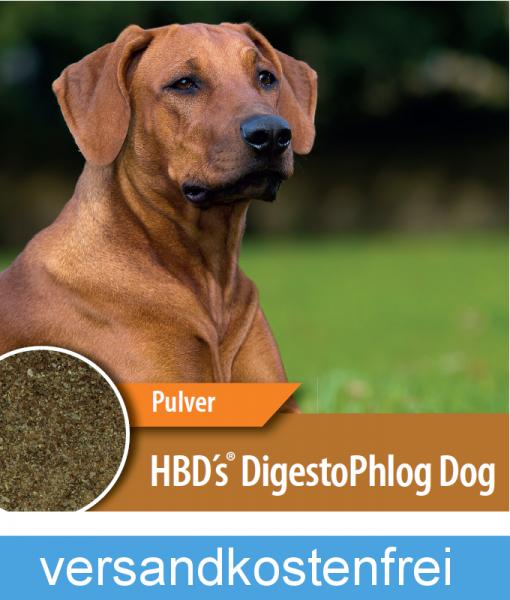 HBD-Agrar - HBD´s® DigestoPhlog Dog - Ergänzungsfuttermittel für den Hund