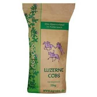 Agrobs - Luzernecobs - natürliches Pferdefutter mit hohem Energiebedarf