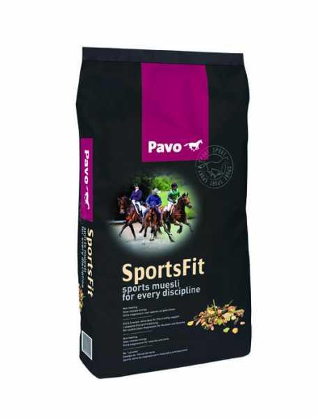 Pavo - SportsFit - Kraftfutter für Sportpferde