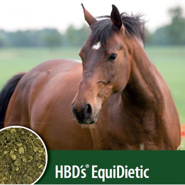 HBD`s® EquiDietic - Ergänzungsfuttermittel für Schleimhautschutz im Magen und Darm