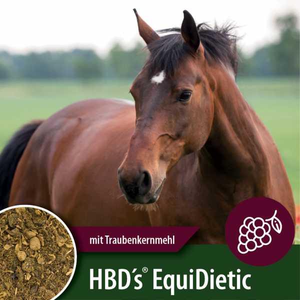 HBD's® EquiDietic TKM - mit Traubenkernmehl