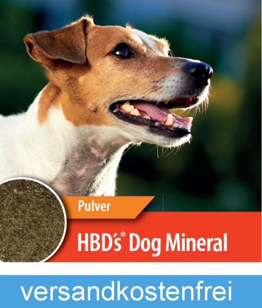 HBD-Agrar - HBD´s® DogMineral - hochwertige Mineralstoffmischung für Hunde