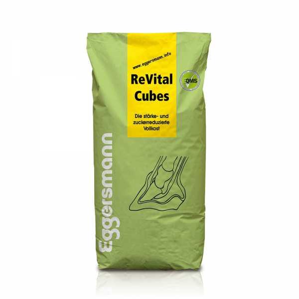 Eggersmann - ReVital Cubes - Stärke- und zuckerarmes Spezialfutter ohne Getreide