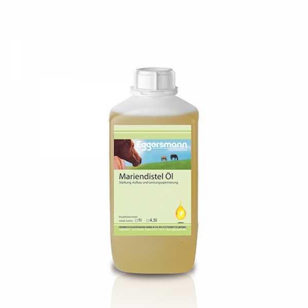 Eggersmann - Mariendistelöl - kaltgepresstes, naturbelassenes Öl