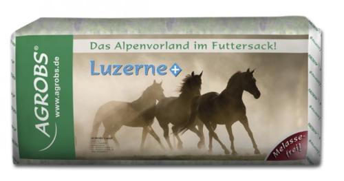 Agrobs - Luzerne+ - Strukturfutter aus Luzerne und grünen Hafer für hohen Energiebedarf