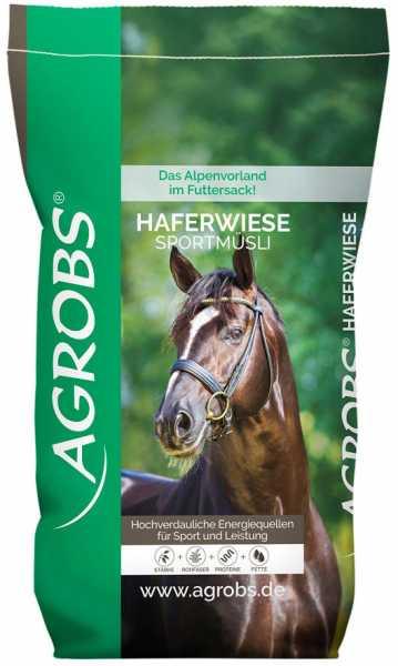 Agrobs - Haferwiese Sportmüsli - natürliche Energie für Sportpferde