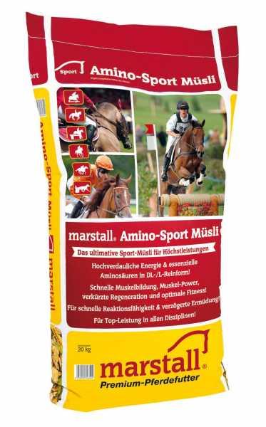 marstall - Amino-Sport Müsli - Zur Fütterung von Hochleistungspferden