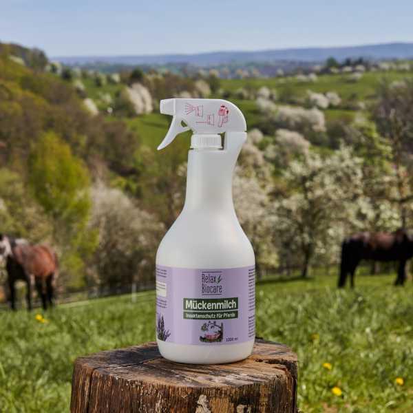 RELAX - Mückenmilch - Fliegenspray für Pferde