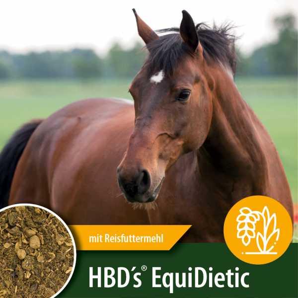 HBD's® EquiDietic - mit Reisfuttermehl