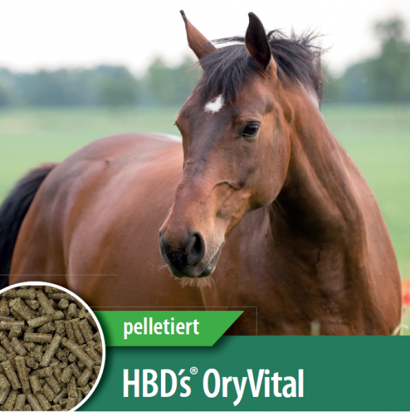 HBD-Agrar - HBD's® OryVital - pelletiertes, getreidefreies Ergänzungsmittel aus 100%Reisfuttermehl