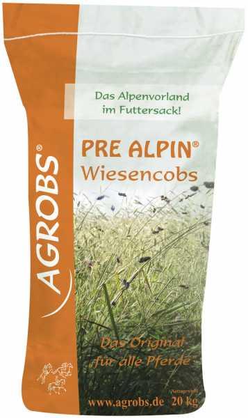 Agrobs - Pre Alpin Wiesencobs - Melassefreies Grundfutter aus 60 unterschiedlichen Kräutern