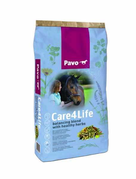 Pavo - Care4Life- Futtermischung für eine gesunde Entschlackung