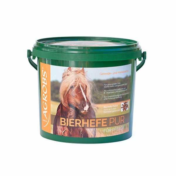 Agrobs - Bierhefe Pur - Getreidefreies Ergänzungsfuttermittel
