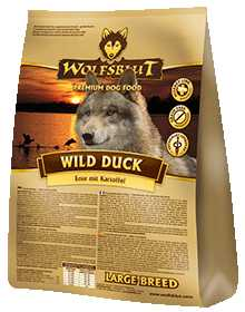 Wolfsblut - Wild Duck Adult - getreidefreies Trockenfutter mit Ente und Kartoffeln